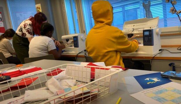 Фінська школа, скріншот з відео