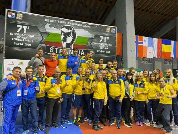 Украинская сборная по боксу на Кубке Странджа, facebook.com/olympicua