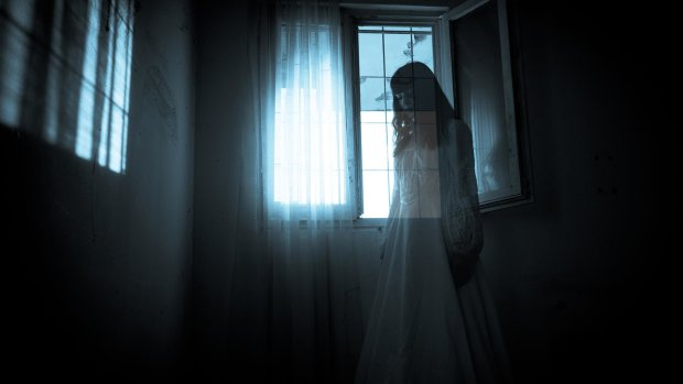 Два жутких призрака показали загробную любовь на камеру: видеошок 18+