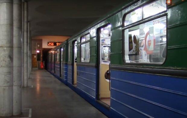 Харьковское метро, скриншот из видео