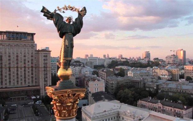 Дрон показав красу столичного парку Дружби народів