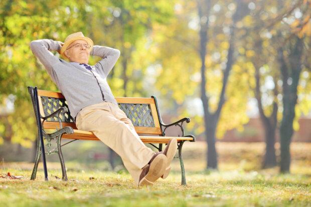 Пенсіонер, - фото Emigrant