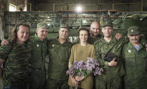 Скандальна співачка з РФ дала вказівку терористам на Донбасі