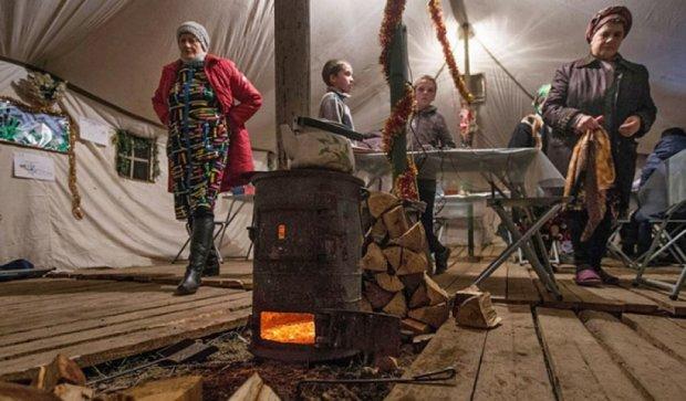 Как в Крыму спасается от холода (фото)