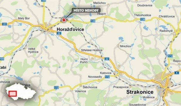 На чешской железной дороге столкнулись два поезда, есть раненые
