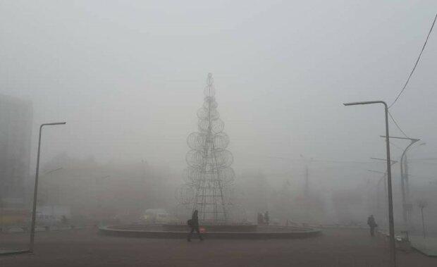 Туман в Украине, фото: Соцсети
