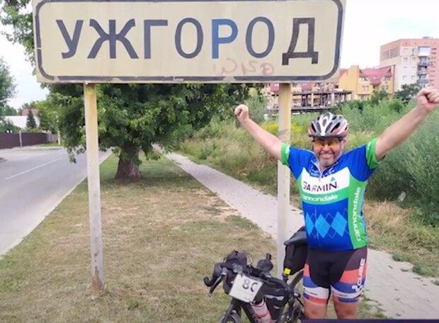 Житель Хмельниччини проїхав Україною 1500 км на велосипеді