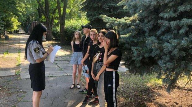 Вандали-Підлітки, фото: поліція