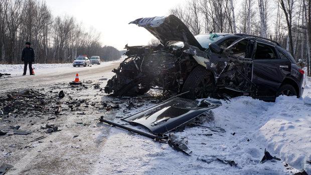Кровавое ДТП под Харьковом заставило копов обратиться к украинцам за помощью