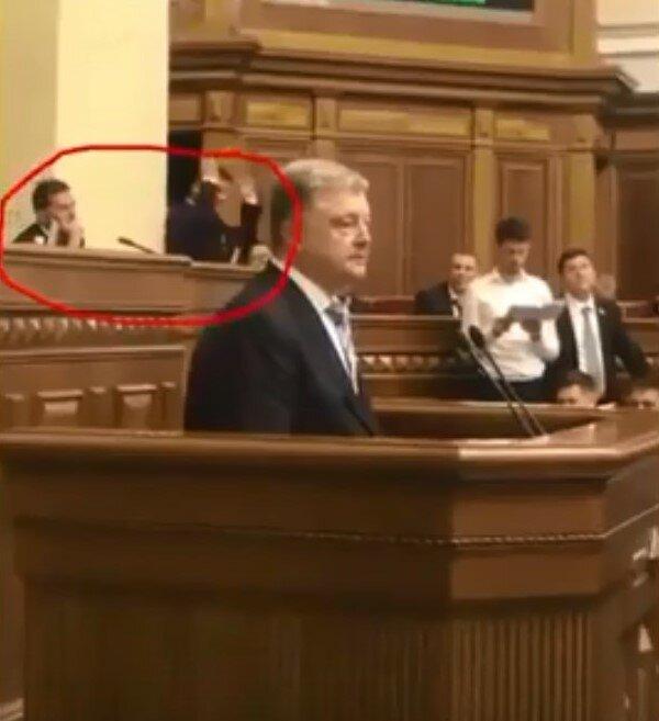 Богдан удачно спародировал Порошенко в Раде: Зеленский не сдержал смеха, видео