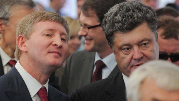 Петро Порошенко та Рінат Ахметов