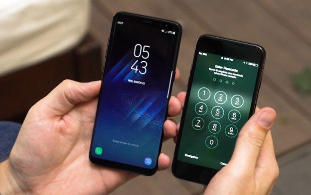 Samsung Galaxy S8 проти iPhone 7 - що вибрати