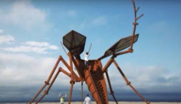 """На украинском пляже """"поселится"""" гигантский комар"""