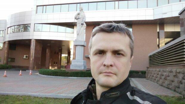 Игорь Луценко возле Киевского апелляционного суда
