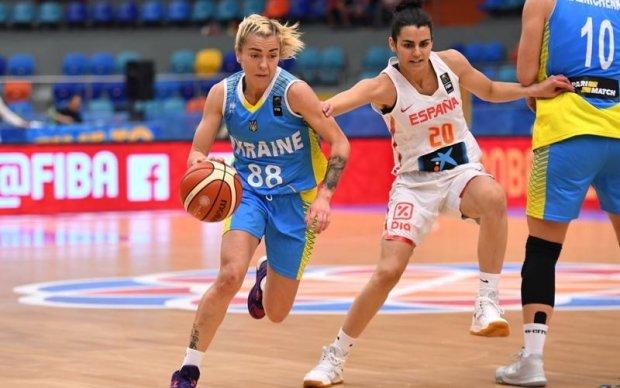 Україна програла в другому матчі жіночого Євробаскету