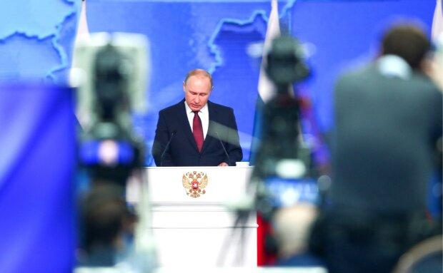 Щорічні Федеральні збори в Росії, пряма трансляція виправдань Путіна: відео