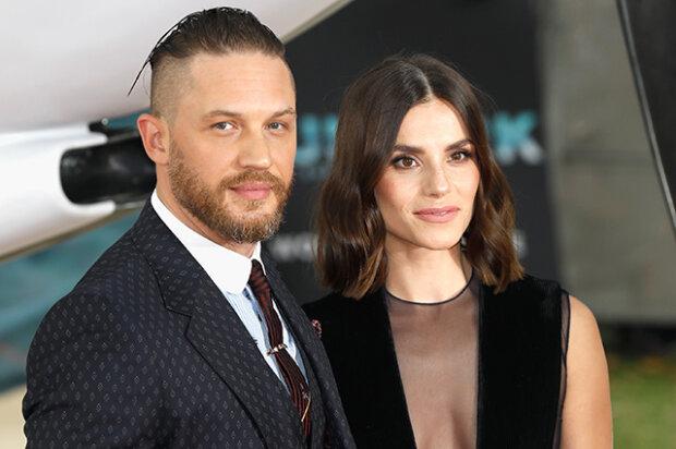 Том Харді з дружиною, фото - Сплетник