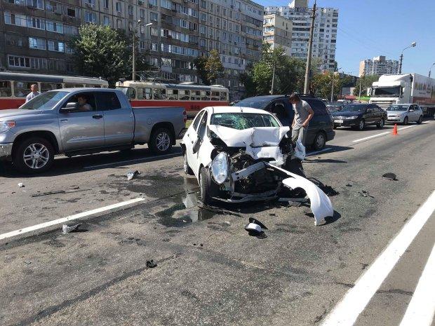 Масштабное ДТП в Киеве: шокирующие подробности о пьяном гонщике на Lanos