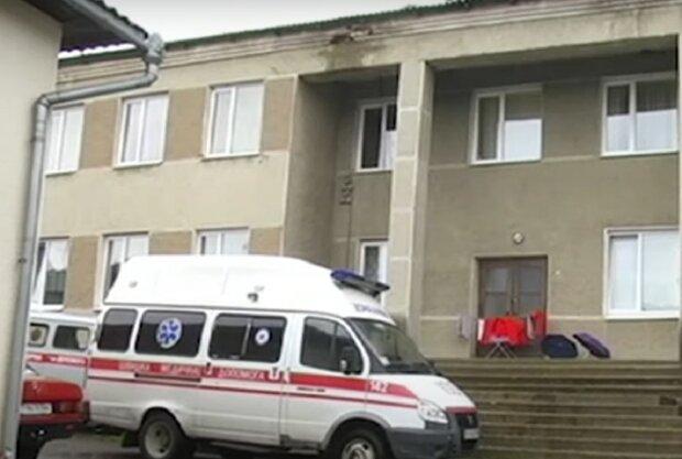Лікарня в Івано-Франківську, кадр з відео, зображення ілюстративне: YouTube