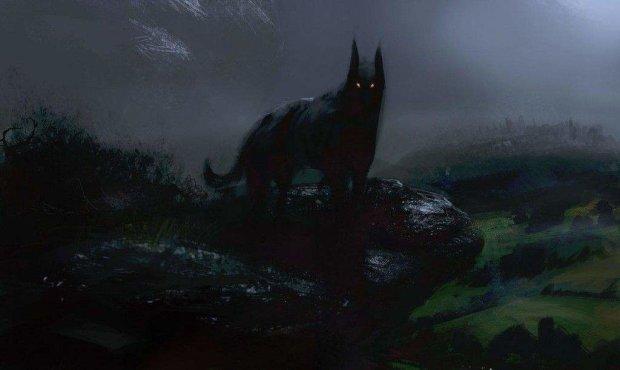 Англичане замерли при виде дьявольского пса: хуже собаки Баскервилей