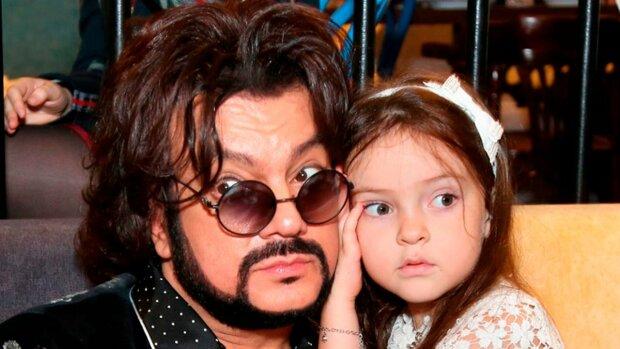 Кіркоров з донькою