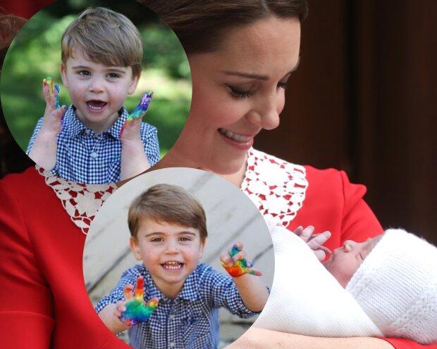 Кейт Міддлтон і принц Луї \\ фото Getty Images