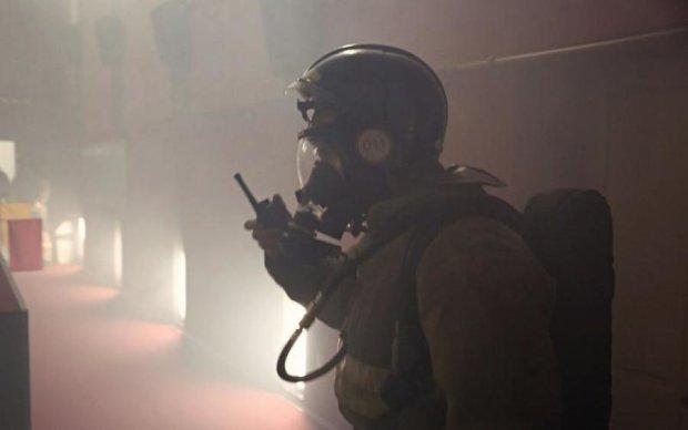 Страшный пожар в российском ТЦ показали с высоты птичьего полета