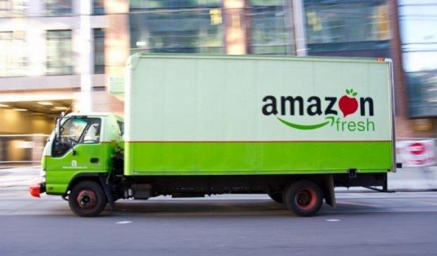 Amazon начала работать в качестве продуктовой службы доставки