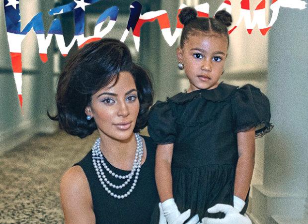 Все, как у мамы: Кардашьян с дочерью покрасовались в купальниках