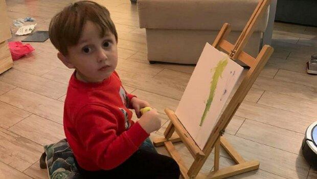 3-летний сын депутата Соболева, фото со свободных источников