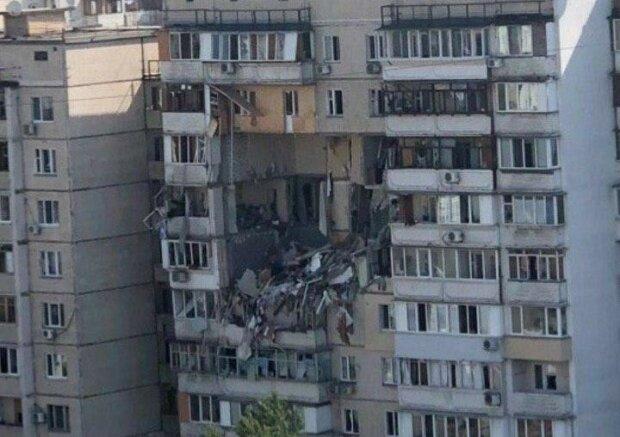 вибух у Києві, фото: соцмережі
