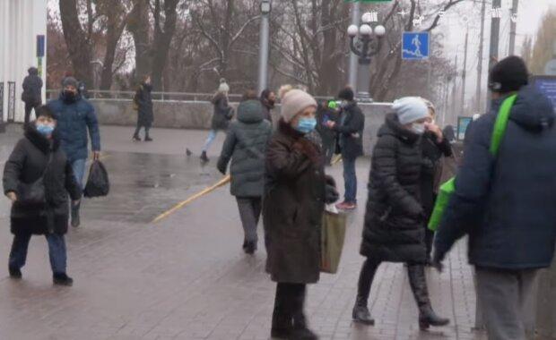 Карантин в Україні, скріншот відео