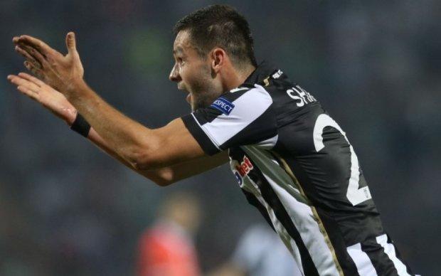 Українця Шахова визнали найкращим футболістом грецького ПАОКа в березні