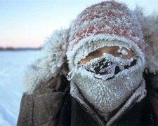 Морозы в Украине, фото: expres.online