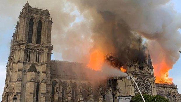 Макрон обнадіяв всіх, хто переживає за собор