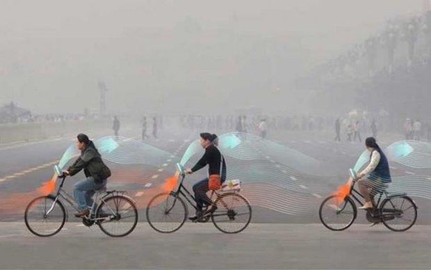 Велосипедисти допоможуть боротися з забрудненням повітря