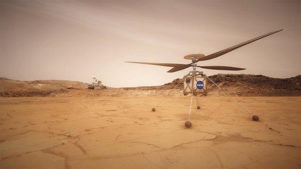 NASA похвалилася першим марсіанським вертольотом: диво техніки, яке змінить час та простір