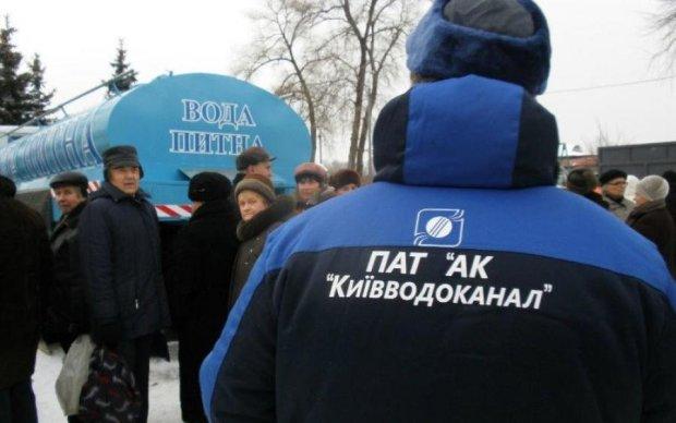 Снова плати: водоканал залез в карман киевлян