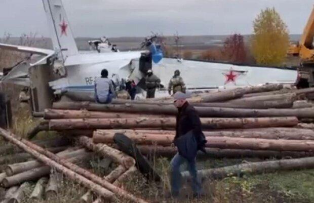 Крушение самолета Let L-410, фото: Telegram