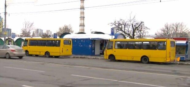 маршрутки, фото: скріншот з відео