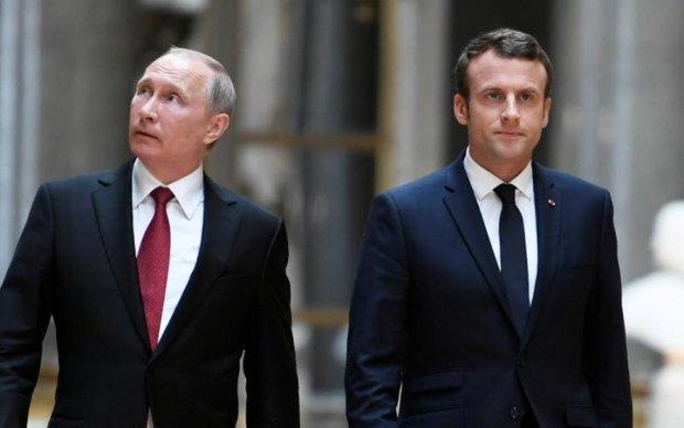 Макрон підказав Путіну, що робити з Сенцовим