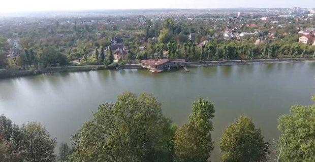 Марцінків втопить в озері Франківська два з половиною мільйони