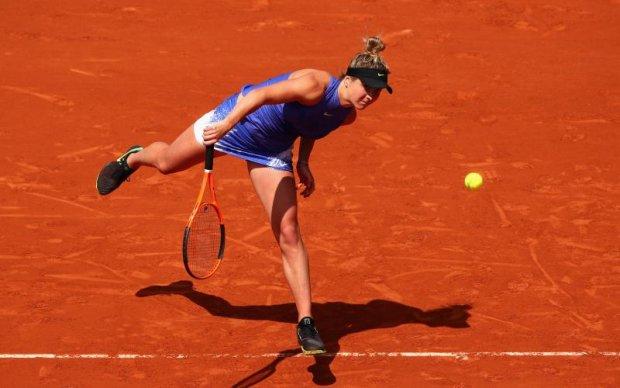 Українська тенісистка поступилась у чвертьфіналі та покинула Ролан Гаррос