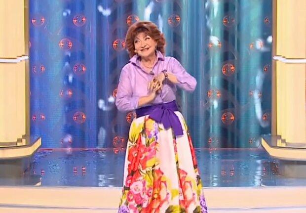 Елена Степаненко, скриншот из видео