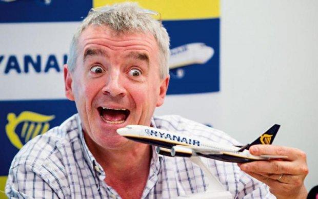 Ryanair підготувала сюрприз своїм пасажирам