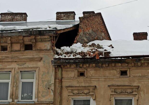 Будівля у Львові, фото з фейсбук