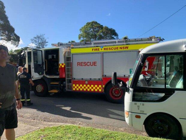Пожар в Австралии, фото: 7NEWS.com.au