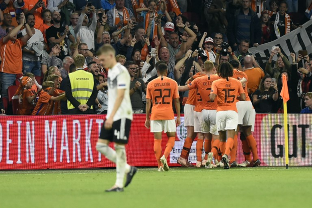 Ліга націй: Нідерланди розгромили Німеччину в Амстердамі
