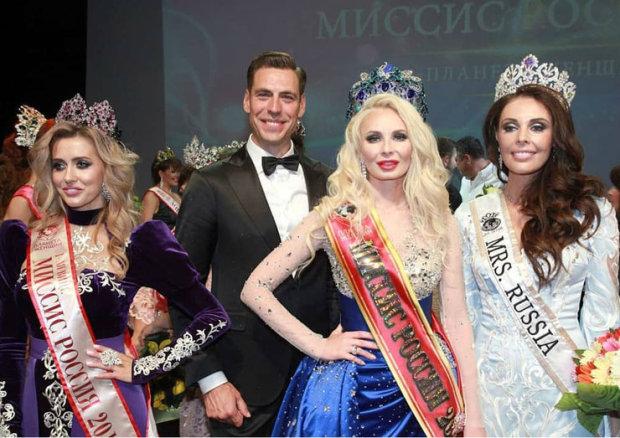 """Фіналістку конкурсу """"Місіс Росія"""" підняли на сміх в мережі: """"Білявка явно ботексу переборщила"""""""