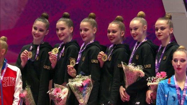 Юные украинские гимнастки триумфовали на Гран-при в Холоне: рекордная сложность